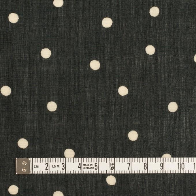 ラミー&テンセル×水玉(ブラック&エクリュ)×ローン イメージ4