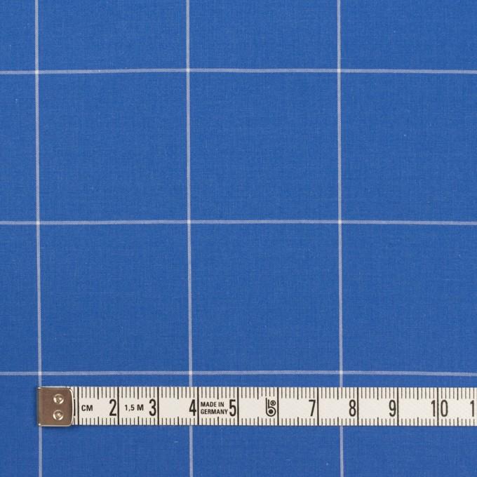 コットン×チェック(ゼニスブルー)×ローン イメージ4