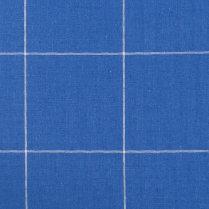 コットン×チェック(ゼニスブルー)×ローン イメージ1