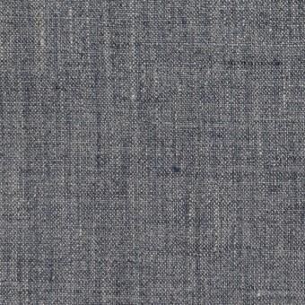 リネン×無地(ブルーグレー)×薄キャンバス