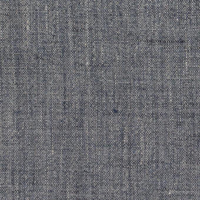 リネン×無地(ブルーグレー)×薄キャンバス イメージ1