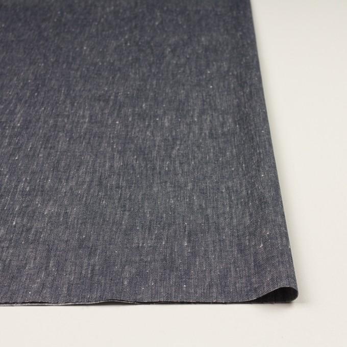 リネン&コットン混×無地(アッシュネイビー)×シャンブレー・サージストレッチ イメージ3