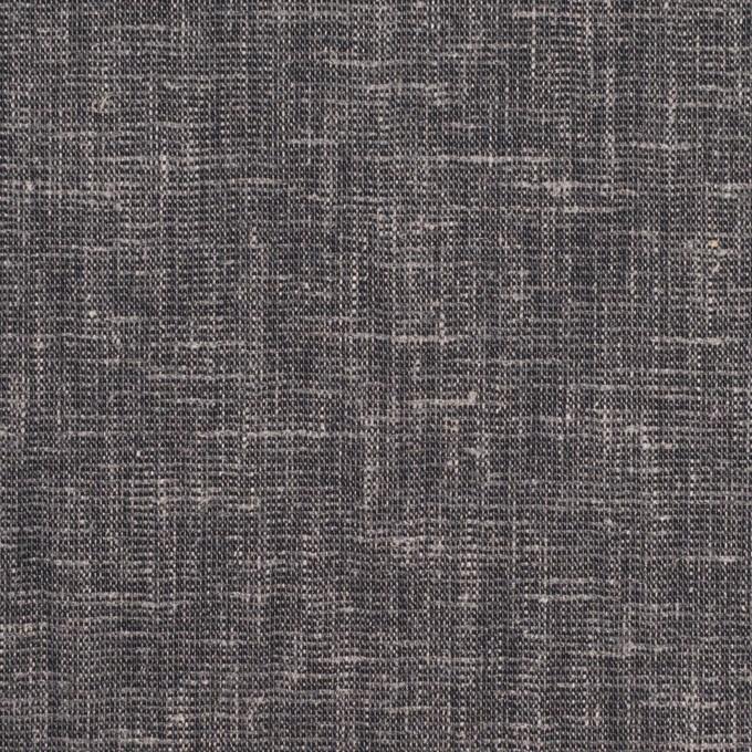 ポリエステル&リネン×無地(アッシュネイビー)×薄キャンバス・ストレッチ イメージ1