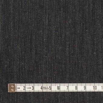 リネン&コットン×無地(チャコール)×ヘリンボーン サムネイル4