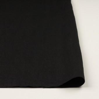 リネン×無地(ブラック)×ヘリンボーン サムネイル3
