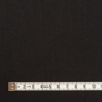 ポリエステル&リネン×無地(ブラック)×薄キャンバス・ストレッチ サムネイル4