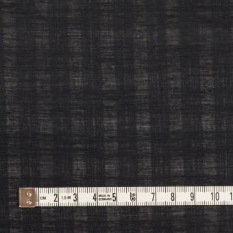コットン×チェック(チャコールブラック)×ボイルジャガード サムネイル4