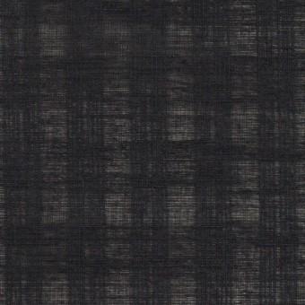 コットン×チェック(チャコールブラック)×ボイルジャガード サムネイル1