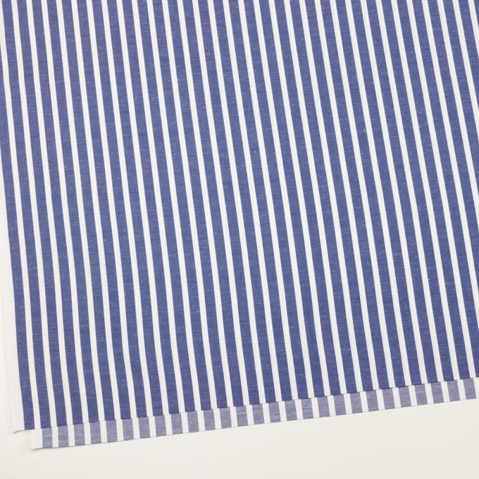 コットン×ストライプ(アッシュブルー)×サージ&サテン イメージ2