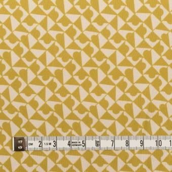 ポリエステル×幾何学模様(アンティークゴールド)×サテン サムネイル4