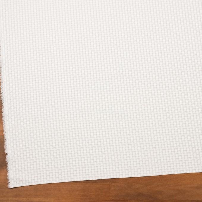 ポリエステル&レーヨン×スクエア(オフホワイト)×ドビー_全2色 イメージ2
