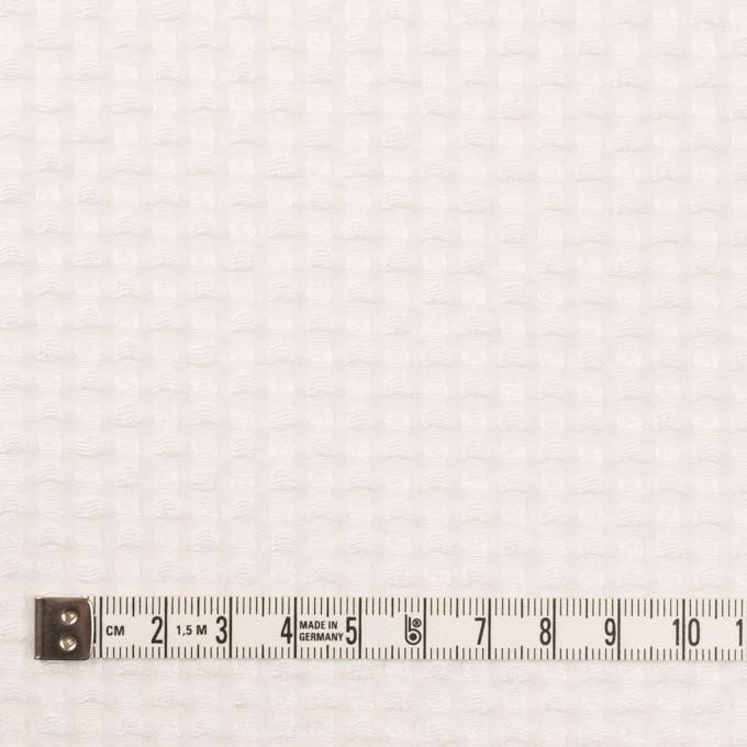ポリエステル&レーヨン×スクエア(オフホワイト)×ドビー_全2色 イメージ4