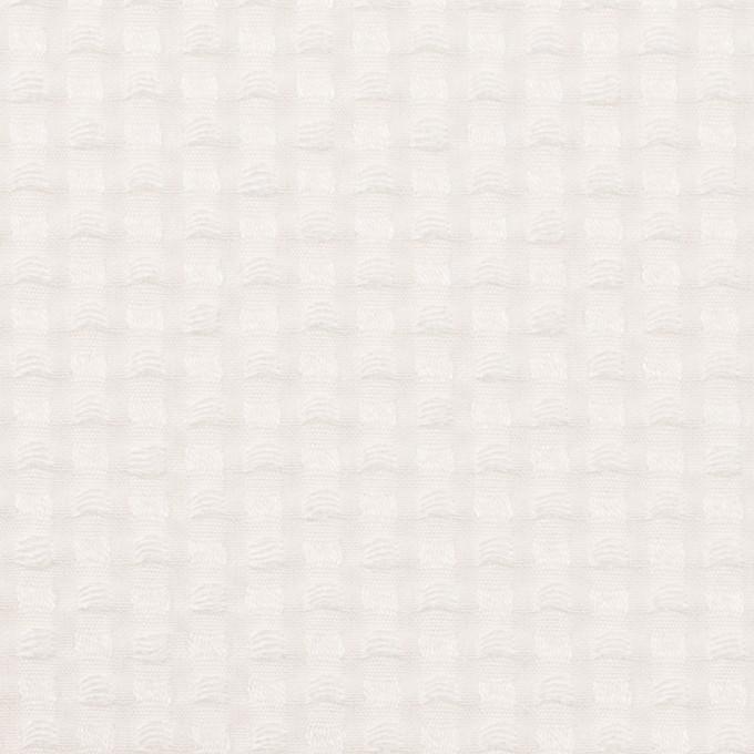 ポリエステル&レーヨン×スクエア(オフホワイト)×ドビー_全2色 イメージ1