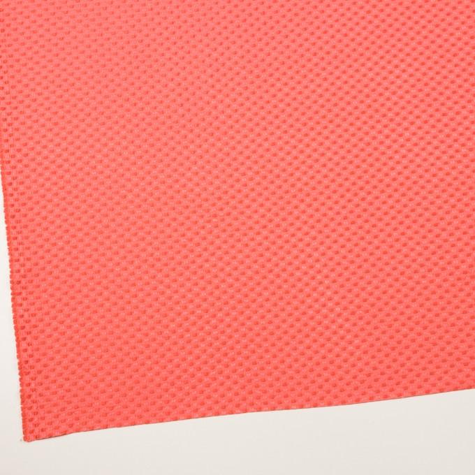 ポリエステル&レーヨン×スクエア(ルビーオレンジ)×ドビー_全2色 イメージ2