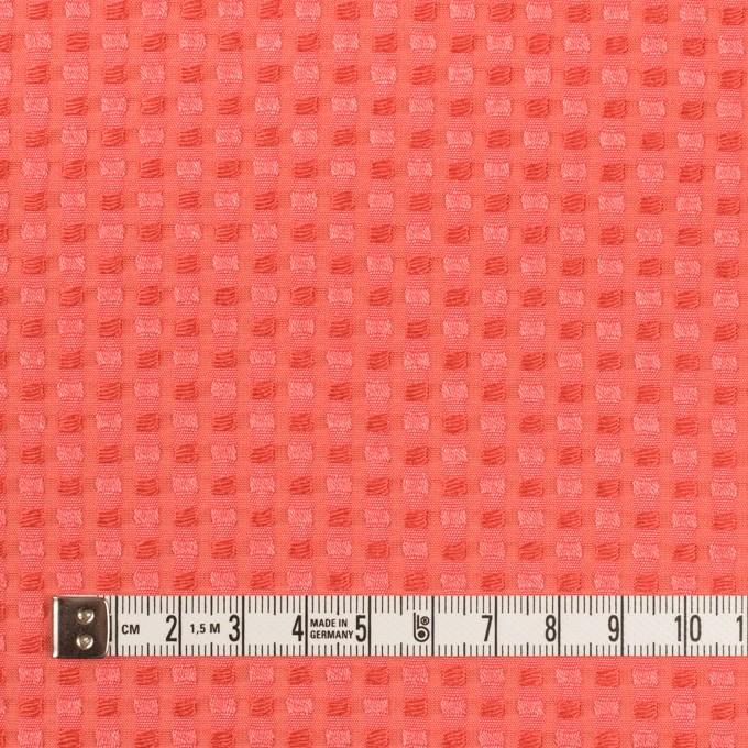 ポリエステル&レーヨン×スクエア(ルビーオレンジ)×ドビー_全2色 イメージ4