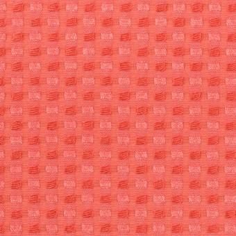 ポリエステル&レーヨン×スクエア(ルビーオレンジ)×ドビー_全2色 サムネイル1