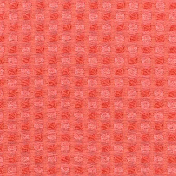 ポリエステル&レーヨン×スクエア(ルビーオレンジ)×ドビー_全2色 イメージ1