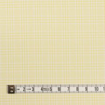 コットン×チェック(イエロー)×ローン サムネイル4
