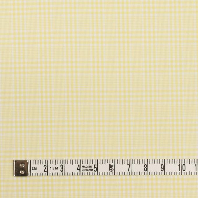 コットン×チェック(イエロー)×ローン イメージ4