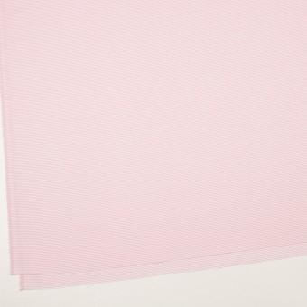 コットン×ボーダー(ピンク)×斜子織 サムネイル2