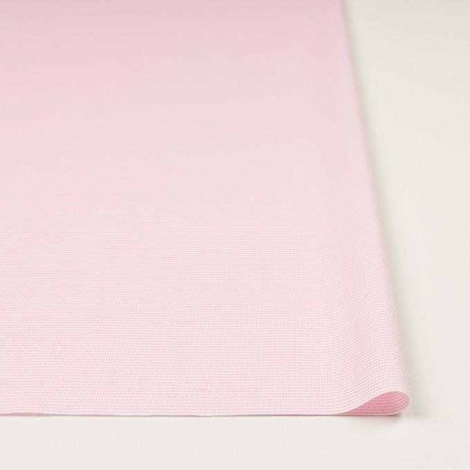 コットン×ボーダー(ピンク)×斜子織 イメージ3
