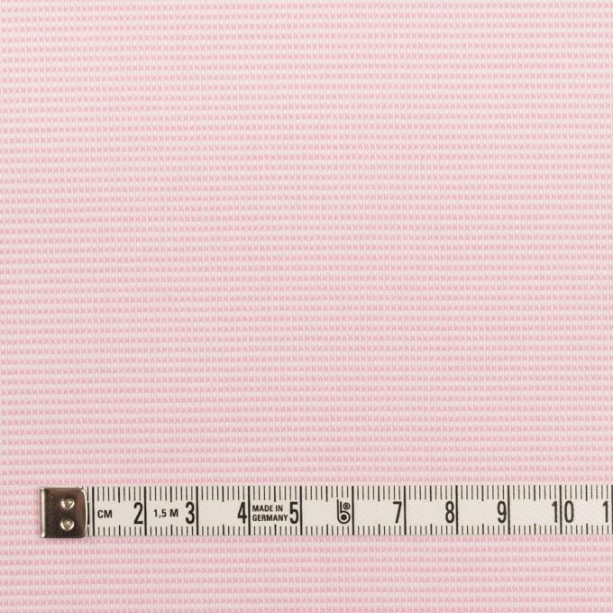 コットン×ボーダー(ピンク)×斜子織 イメージ4