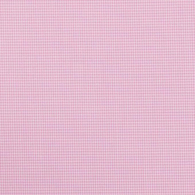 コットン×チェック(コスモス)×千鳥格子 イメージ1