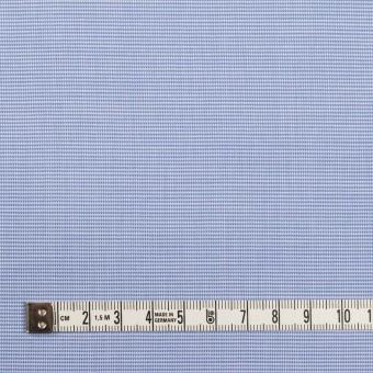 コットン×ミックス(サックス)×斜子織_イタリア製 サムネイル4