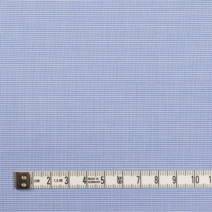 コットン×ミックス(サックス)×斜子織_イタリア製 イメージ4