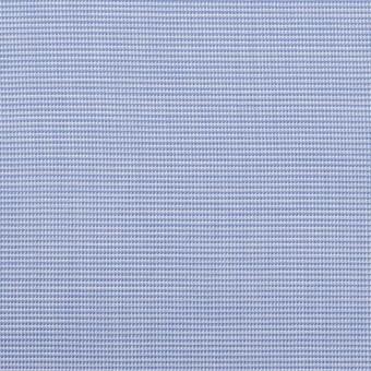 コットン×ミックス(サックス)×斜子織_イタリア製 サムネイル1