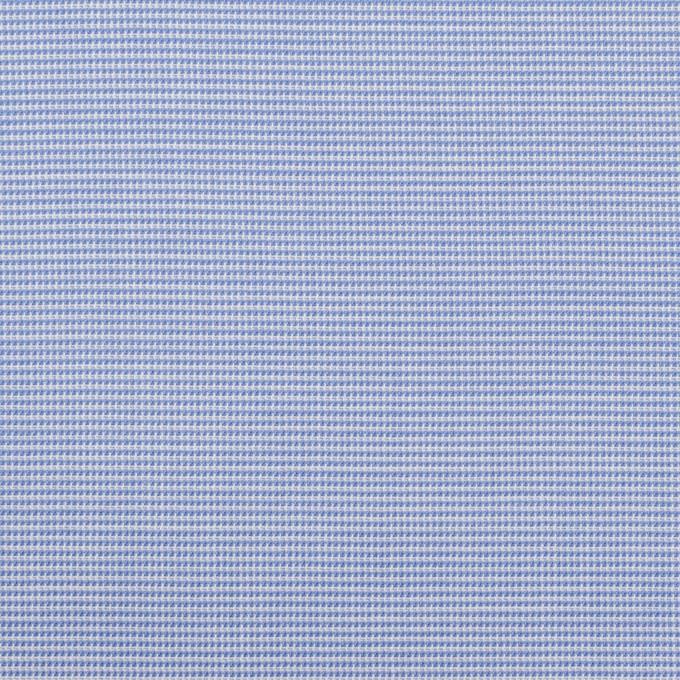 コットン×ミックス(サックス)×斜子織_イタリア製 イメージ1