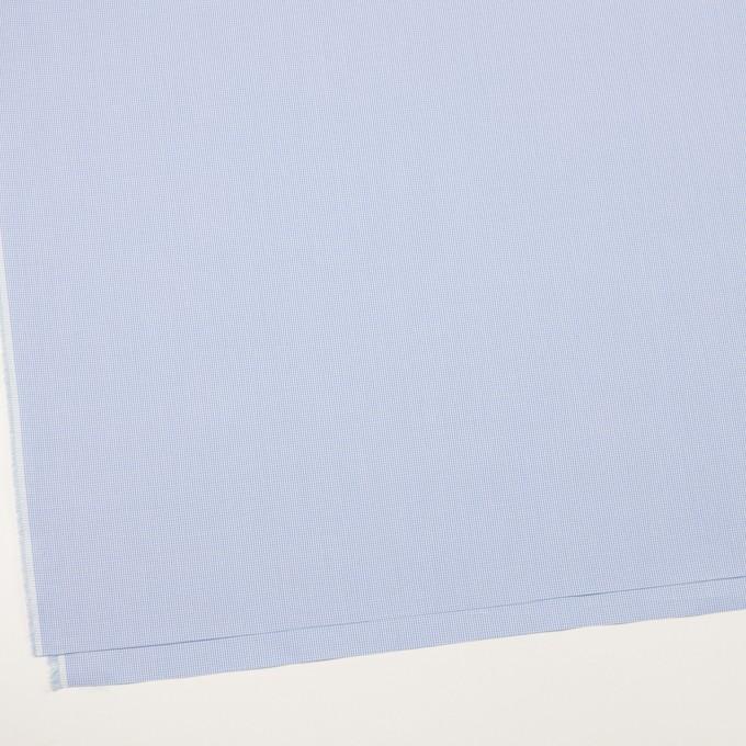 コットン×チェック(サックス)×千鳥格子 イメージ2