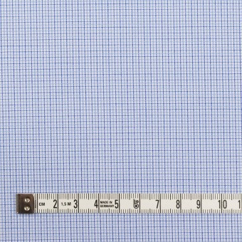 コットン×チェック(サックス)×ブロードジャガード サムネイル4