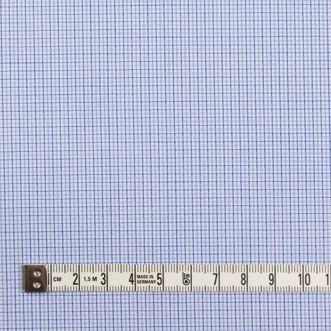 コットン×チェック(サックス)×ブロードジャガード イメージ4