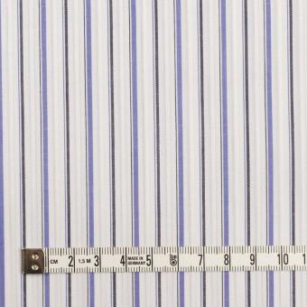 コットン×ストライプ(ラベンダーブルー&チャコール)×ブロードジャガード サムネイル4