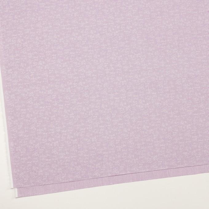 コットン×ストライプ(ラベンダー)×ブロードジャガード_全2色 イメージ2
