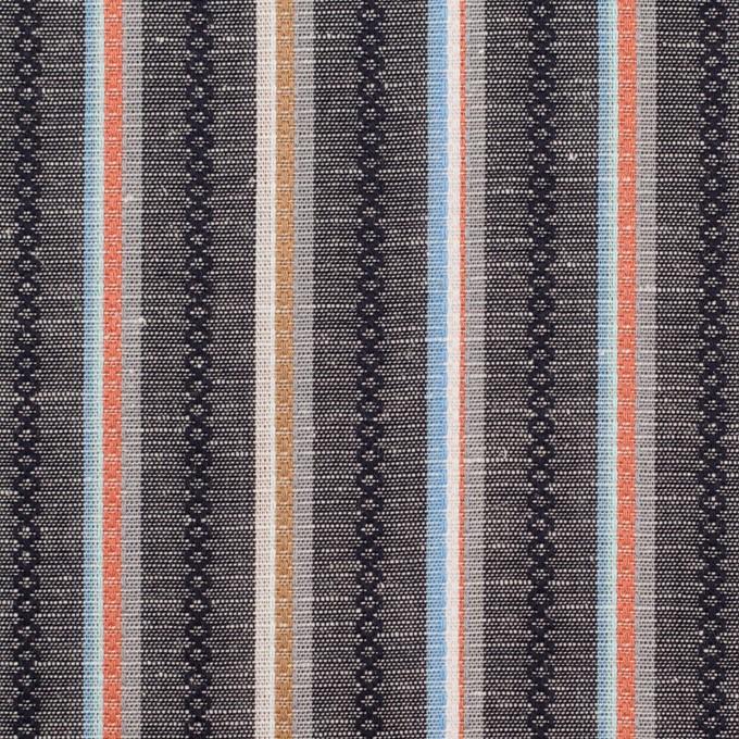 コットン×ストライプ(チャコールグレー)×シーチング・ドビー_全2色 イメージ1