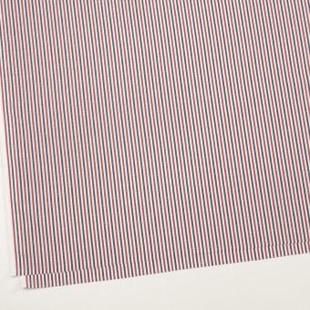 コットン×ストライプ(レッド&チャコール)×ブロード・ドビー_全2色 サムネイル2