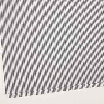 コットン×ストライプ(カーキグリーン&チャコール)×ブロード・ドビー_全2色 サムネイル2