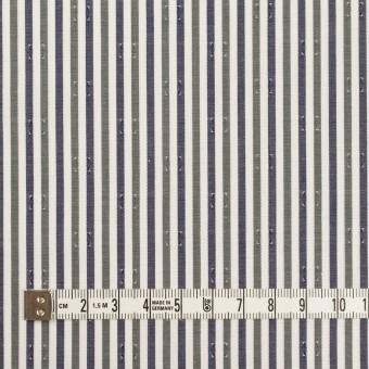 コットン×ストライプ(カーキグリーン&チャコール)×ブロード・ドビー_全2色 サムネイル4