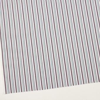 コットン×ストライプ(アッシュブラウン、エメラルド&ネイビー)×ブロード_全2色 サムネイル2