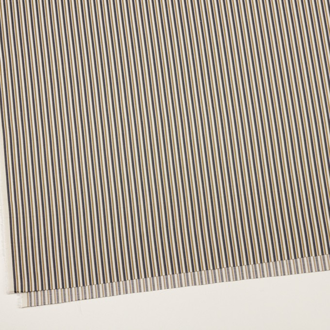 コットン×ストライプ(マスタード、ネイビー&カーキグリーン)×ブロード_全2色 イメージ2