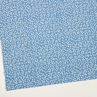 コットン×水玉(ゼニスブルー&オフホワイト)×ローン_全6色 サムネイル2