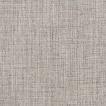 コットン&ポリエステル×無地(ストーングレー)×シャンブレー・ローン_全4色