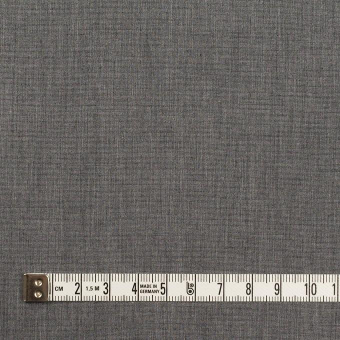 コットン&ポリエステル×無地(チャコールグレー)×シャンブレー・ローン_全4色 イメージ4