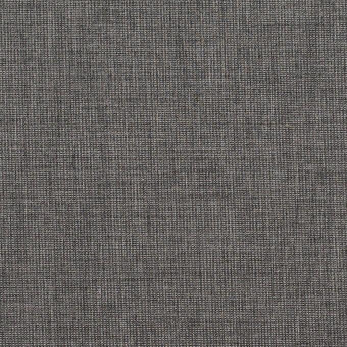 コットン&ポリエステル×無地(チャコールグレー)×シャンブレー・ローン_全4色 イメージ1