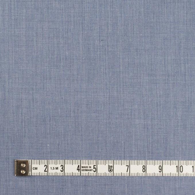 コットン&ポリエステル×無地(アッシュブルー)×シャンブレー・ローン_全4色 イメージ4