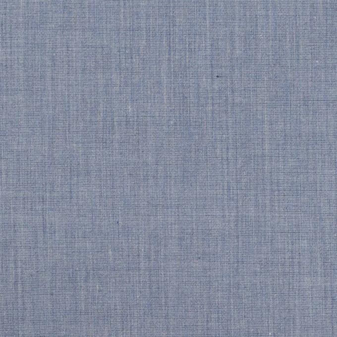 コットン&ポリエステル×無地(アッシュブルー)×シャンブレー・ローン_全4色 イメージ1