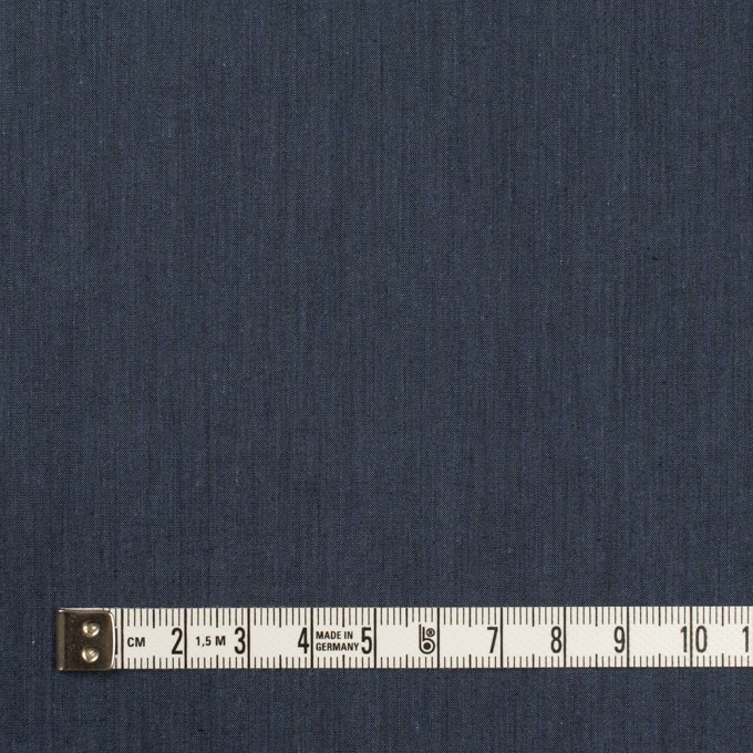 コットン&ポリエステル×無地(アッシュネイビー)×シャンブレー・ローン_全4色 イメージ4