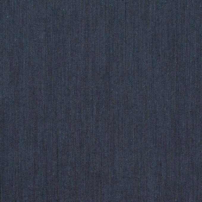 コットン&ポリエステル×無地(アッシュネイビー)×シャンブレー・ローン_全4色 イメージ1